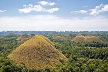 Čokoladni vrhovi - Bohol, Filipini