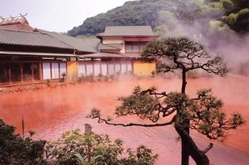 Crveni termalni izvori - Beppu, Japan