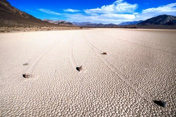Putujuće stene - Death Valley, SAD