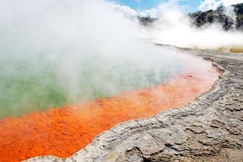 Termalni izvori - Champagne Pool, Novi Zeland