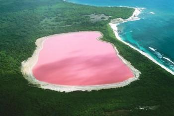 Jezero Hillier - Middle Island, Australija