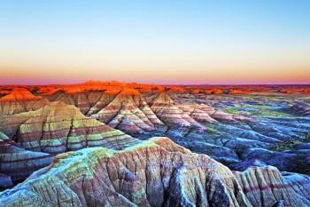 Planine - Nacionalni park Badlands, SAD