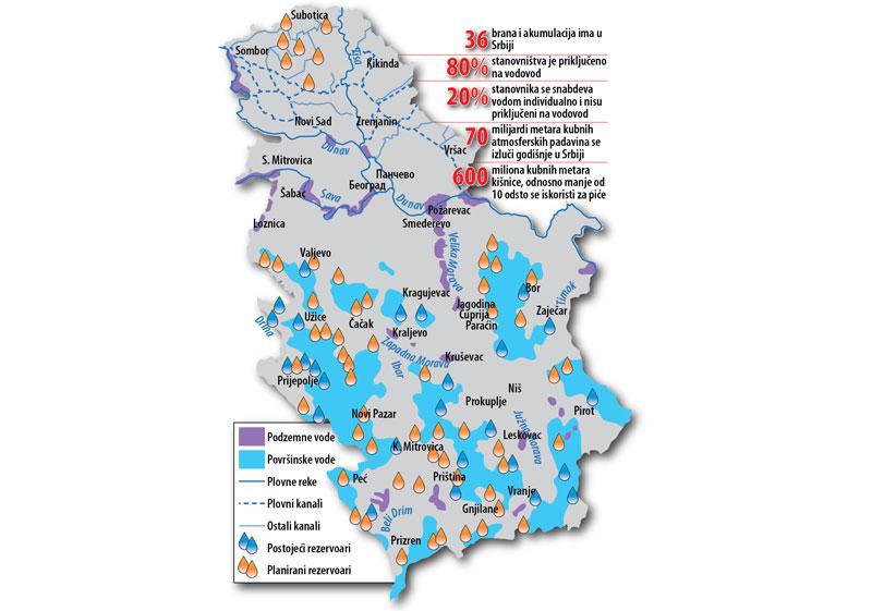 geoloska karta srbije podzemne vode Srbija bogata vodama, a još uvek nas muče nestašice | Portal NA VODI geoloska karta srbije podzemne vode