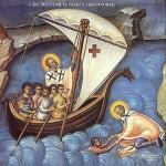 Srpska pravoslavna crkva i pravoslavni vernici danas slave Svetog Nikolu Čudotvorca, jednog od najvećih vizantijskih svetitelja koji važi za zaštitnika putnika, moreplovaca, ribara i splavara.
