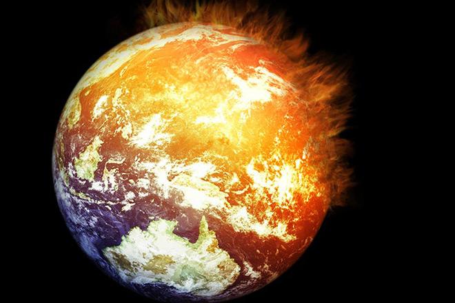 Resultado de imagen de aumento de la temperatura terrestre