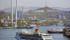 Costa Victoria cruise ship in Vladivostok, Russia